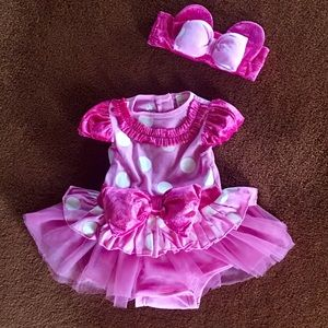 Minnie Mouse Baby Outfit, 6-12 months